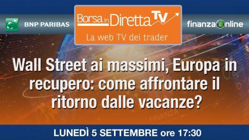 e2411503cc Mercati: Wall Street ai massimi, Europa - FinanzaOnline