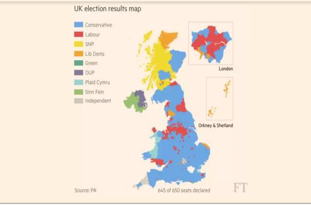 Così il Regno Unito dopo il voto