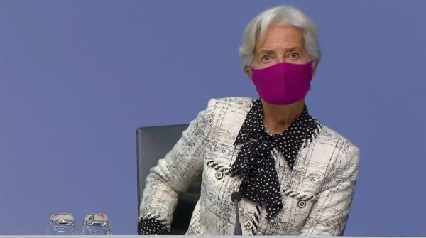 """Christine Lagarde pronta a """"ricalibrare"""" tutti i bazooka lanciati dalla Bce per sconfiggere gli effetti del dramma lockdown da COVID-19"""