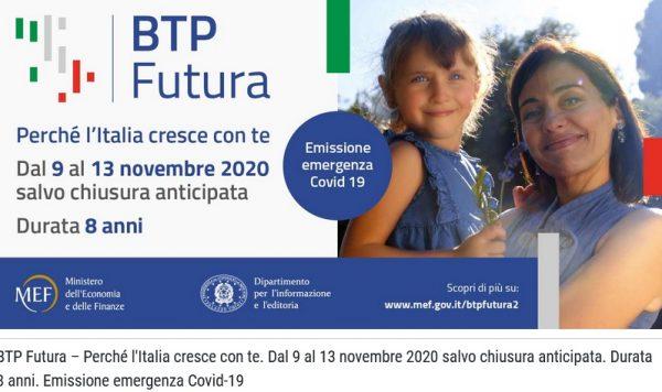 Il primo giorno di collocamento per il BTP Futura è andato bene: arrivate richieste per oltre 2,5 miliardi di euro. Ma attenti a effetti news vaccino Pfizer