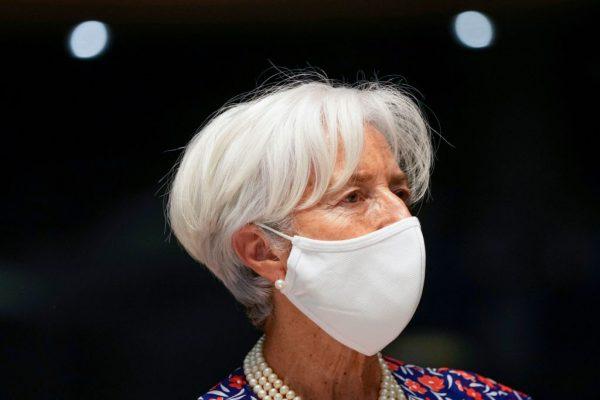 Christine Lagarde annuncia nuovo target inflazione per l'area euro al 2% simmetrico.