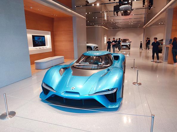 Secondo il governo di Pechino, i colossi dell'EV auto elettriche, sarebbero troppi. Nella foto, un'auto di NIO